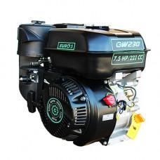 Двигатель GrunWelt GW230F-T20 New ЕВРО 5 (шлицы)