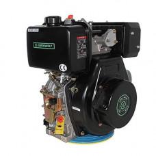 Дизельный двигатель GrunWelt GW186FB-F2 (9,5 л.с., вал шпонка)