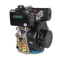 Дизельный двигатель GrunWelt GW192FE-F2 (14 л.с., вал шпонка)