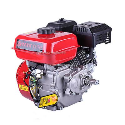 Двигатель Тата 170F (понижающий шестеренчатый редуктор, шпонка)