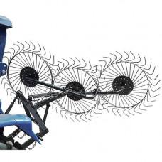 Грабли-ворошилки Солнышко 3-х колёсные (3-х точечное прицепное)