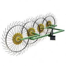 Грабли-ворошилки Солнышко 4-х колесные ГВР-4
