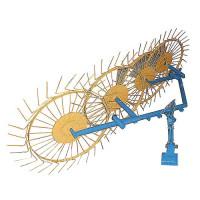 Грабли-ворошилки Солнышко 4-х колесные (заводские ГОСТ, 5 мм)