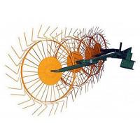 Грабли-ворошилки Солнышко 4-х колесные (4,0 мм)