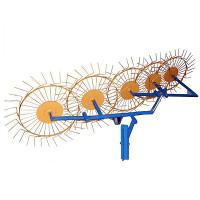 Грабли-ворошилки Солнышко 5-ти колесные (5,0 мм)