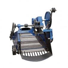 Картофелекопалка транспортерная для мототрактора с гидравликой
