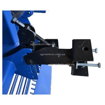 Картофелекопалка транспортерная КМТ-7 с активным ножом для мотоблока, мототрактора