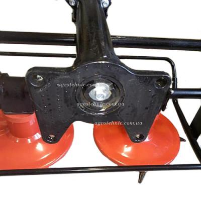 Косилка роторная для мотоблока Weima 1100-6 DELUXE (коробка 6 передач, ВОМ шлицы)