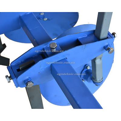 Дисковый окучник 420 мм с пропольником
