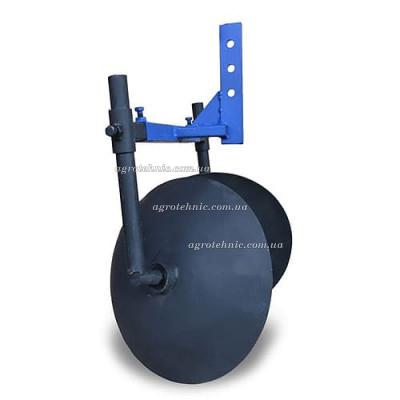 Окучник дисковый 350 мм регулируемый на подшипниках