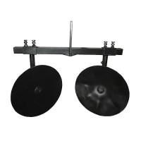 Окучник дисковый регулируемый 360 мм на двойной сцепке
