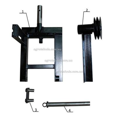 Комплект для установки роторной косилки