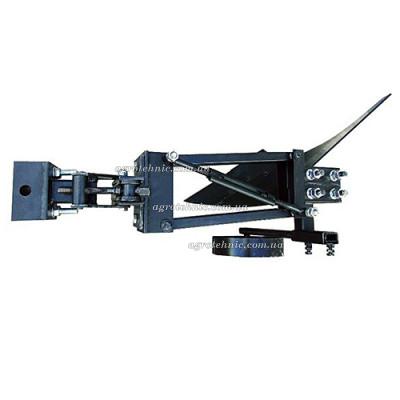 Плуг для мототрактора с гидравликой