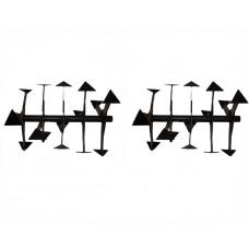 Почвофреза для мотоблока Нева (5 секций, вал 30 мм)