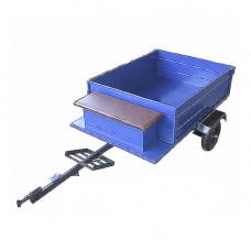 Прицеп-самосвал (эконом) с ленточными тормозами (колеса 4.00-8)
