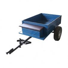 Прицеп-самосвал с ленточными тормозами под жигулёвскую ступицу (без колес)