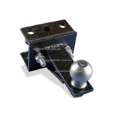 Сцепной узел (фаркоп) к автомобильному прицепу для мототрактора, одноточечный