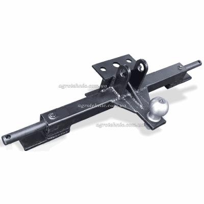 Сцепной узел (фаркоп) к автомобильному прицепу для мототрактора, трехточечный
