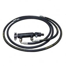 Комплект гидравлики для поднятия лопаты (косилки) на мототракторе