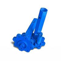 Полуоси дифференциальные для мотоблока под шестигранник 32/215 мм с универсальной ступицей (Агромарка)