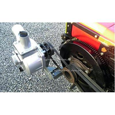 Помпа на мотоблок (мототрактор) под ремень