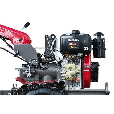 Мотоблок Weima WM1100BE-6 KM DELUXE4+2 скорости, электростартер