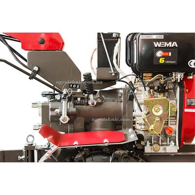 Мотоблок Weima WM1100BE-6 KM DELUXE(4+2 скорости, электростартер)