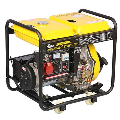 Дизельный генератор Кентавр КДГ505EК/3 (380V, 3 фазы)