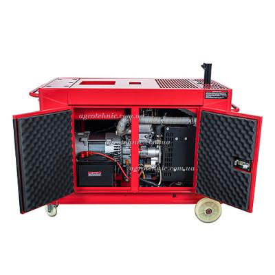 Дизельный генератор Vitals Professional EWI 10-3daps ATS (автомат, 380V, 3 фазы)
