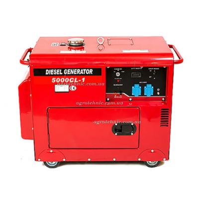 Дизельный генератор Weima WM5000CL-1-3 SILENT (380V, 3 фазы, шумоизоляция)