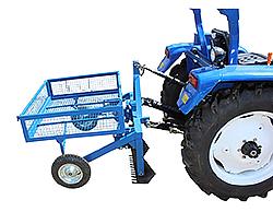 Копалка чеснока для трактора