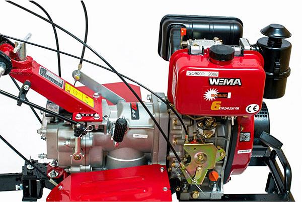Мотоблок Weima WM1100А-6 (4+2 скорости)